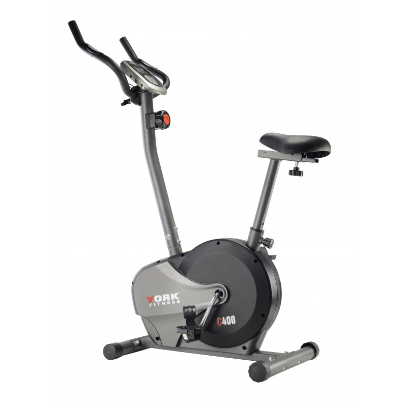 YORK C400 MANUAL MAGNETIC UPRIGHT EXERCISE BIKE