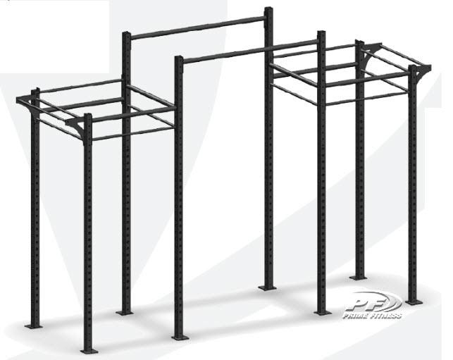 Bodyworx CrossFit Modular rack 1