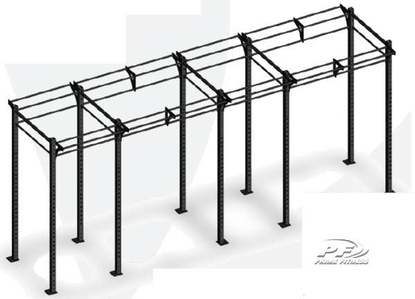 Bodyworx CrossFit Modular rack 2