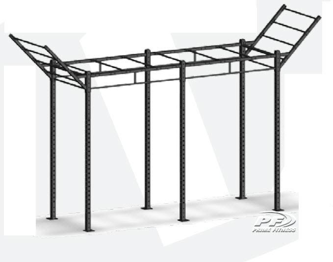 Bodyworx CrossFit Modular rack 4