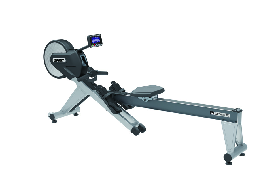 NEW SPIRIT CRW800 AIR and MAGNETIC RESISTANT COMMERCIAL ROWER