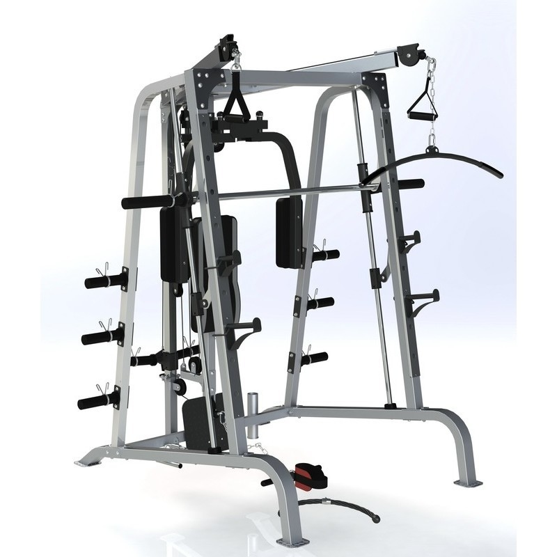 FORCE USA F-SM SMITH MACHINE CABLE CROSSOVER and POWER RACK COMBO