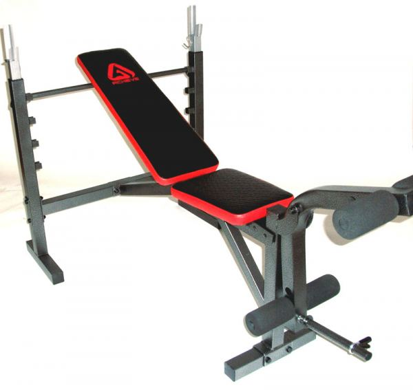 ACHIEVE GRUNT BENCH WITH LEG EXTENSION, FREE SHIPPING