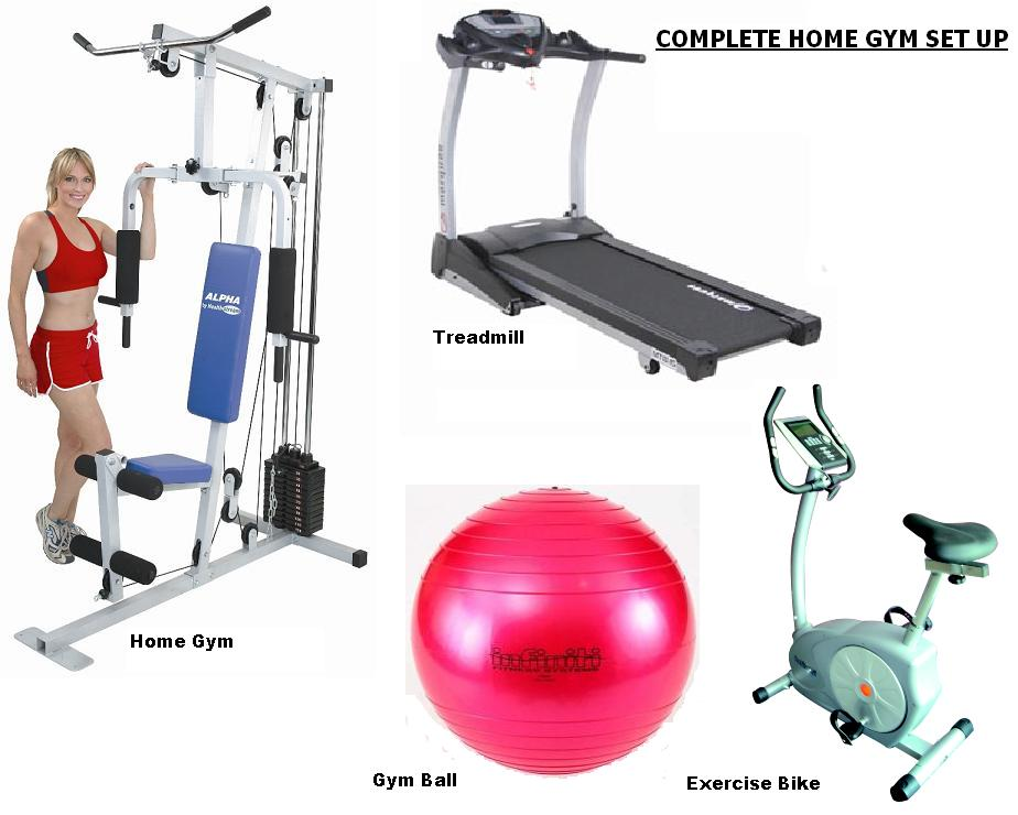 Complete Home Gym Set Up....FREE DELIVERY