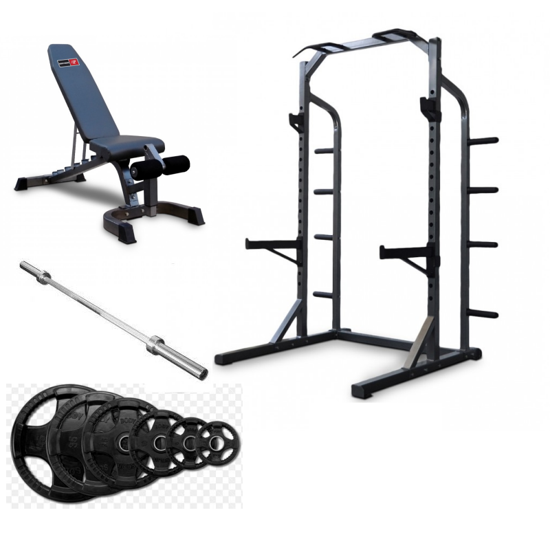 NEW BODYWORX L470HR WITH BENCH AND WEIGHTS PACKAGE