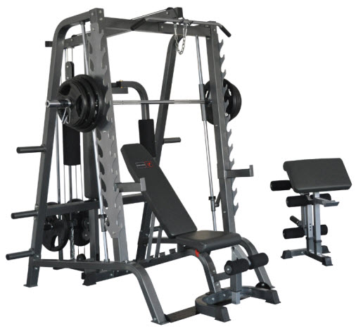 BODYWORX L680T SMITH MACHINE SYSTEM PACKAGE DEAL
