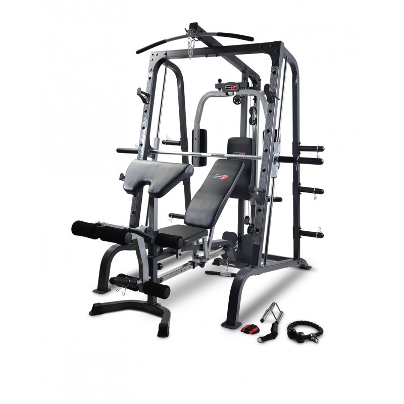 BODYWORX LX4000SM SMITH MACHINE AND FID BENCH