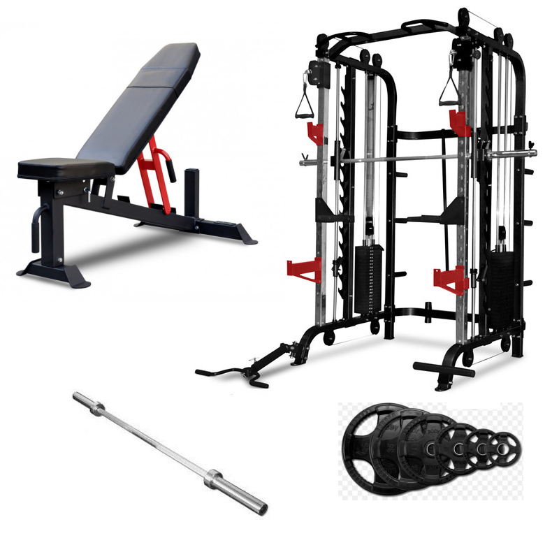 Bodyworx LXT300 , Bench and Weights Package