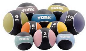 YORK 9KG MEDICINE BALL