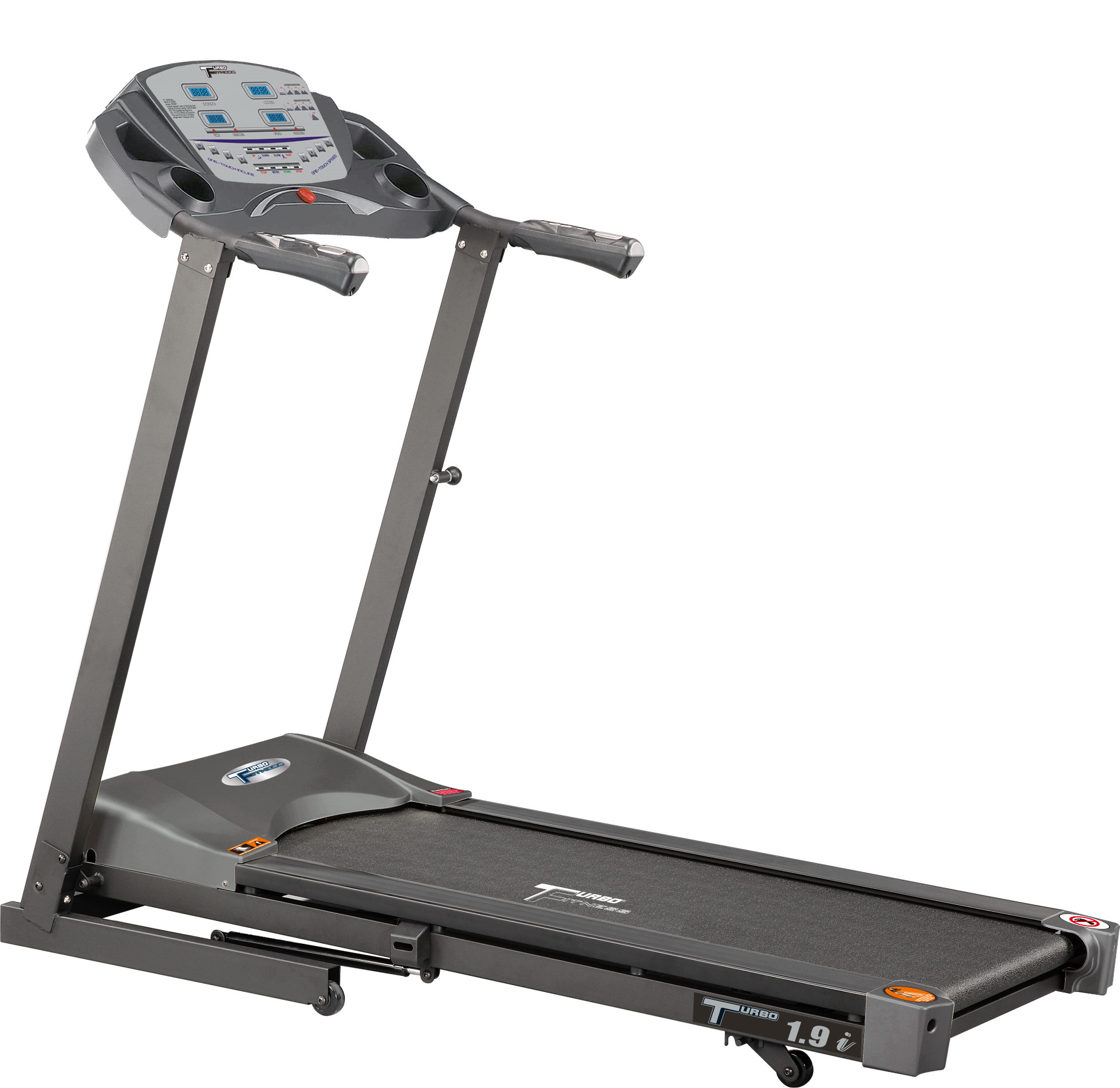 Turbo Fitness T1.9i treadmill with power elevation