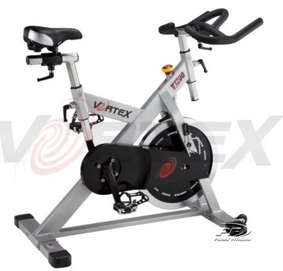 VORTEX V1200 LIGHT COMMERCIAL SPIN BIKE with 25kg flywheel
